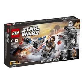 LEGO® STAR WARS™ 75195 Sněžný spídr™ a kráčející kolos Prvního řádu™