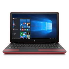 """HP Pavilion 15-au007nc (F6Q17EA#BCM) červený Brašna na notebook ATTACK IQ Cord 15.6"""" - černá (zdarma) + Software za zvýhodněnou cenu + Doprava zdarma"""