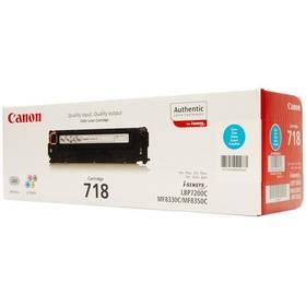 Canon CRG-718C, 2900 stran (2661B002) modrý