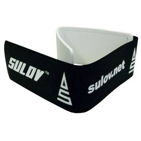 Spínací pásek Sulov na lyže Sulov, černo-bílý