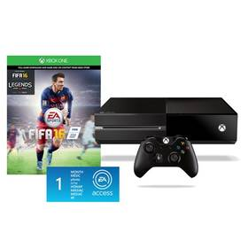 Microsoft Xbox One 500GB + FIFA 16 + 1 měsíc EA Access (5C7-00169) + Doprava zdarma