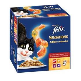 Felix Sensations Jellies masový výběr 24 x 100 g