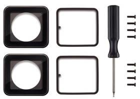 GoPro na výměnu čočky krytu (ASLRK-301) černé + Doprava zdarma