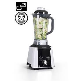 G21 Blender Perfect Smoothie Vitality white bílý + Kniha Secret of Raw Tajemství syrové stravy v hodnotě 450 Kč jako dárek + Doprava zdarma
