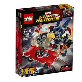 LEGO® SUPER HEROES 76077 Iron Man: Robot z detroitských oceláren + Doprava zdarma