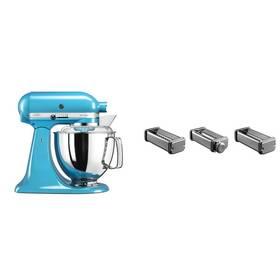 Set KitchenAid - kuchyňský robot 5KSM175PSECL + KPRA strojek na těstoviny + Doprava zdarma