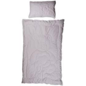 Peřinka a polštářek Kaarsgaren prošívaná 200x140 cm bílá