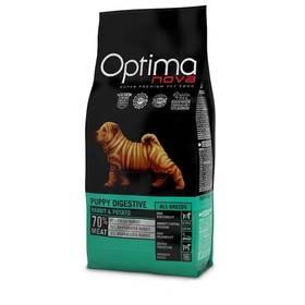 Optima nova Puppy digestive GF 12 kg + Antiparazitní obojek za zvýhodněnou cenu + Doprava zdarma