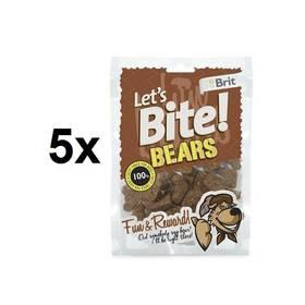 Brit Lets Bite Bears 5 x 150 g