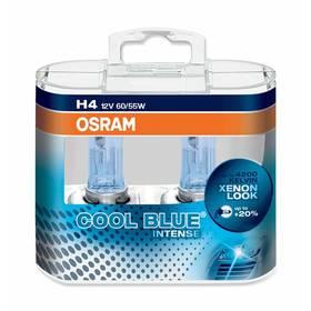 Autožárovky Osram 12V H4 60/55W P43t 2ks Cool Blue Xenon Effect 4200K