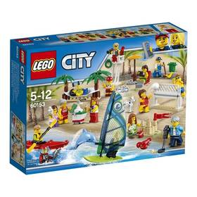 LEGO® CITY TOWN 60153 Sada postav - Zábava na pláži + Doprava zdarma