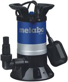Metabo PS 7500 S, pro odpadní vody černé/modré + Doprava zdarma