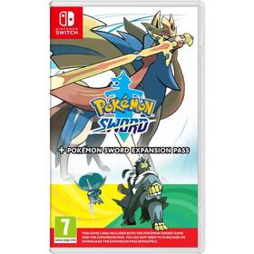 Nintendo SWITCH Pokémon Sword + Expansion Pass (NSS571)