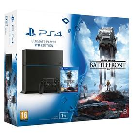 Sony PlayStation 4 1TB + Star Wars: Battlefront (PS719862543) + Doprava zdarma