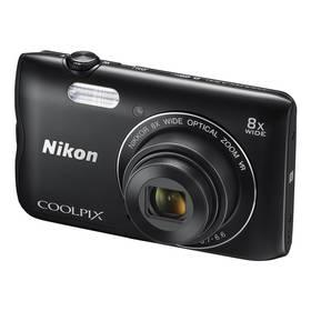 Nikon Coolpix A300 černý + Doprava zdarma