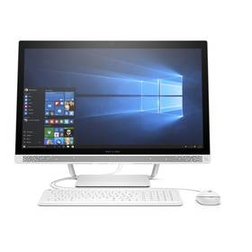 PC all in-one HP Pavilion 27-a150nc (Y4K65EA#BCM) biely