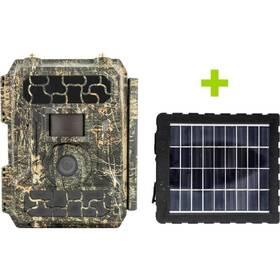 OXE Panther 4G + solárny panel zelená/hnedá