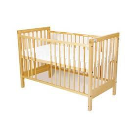 For Baby Věra vyndavací příčky borovice Matrace do postýlky For Baby 120x60 cm - bílá (zdarma)