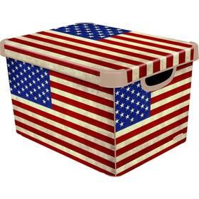 Curver Decoboxes Stockholm American Flag vel. L