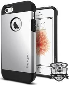 Spigen Tough Armor Apple iPhone 5/5s/SE (041CS20251) stříbrný + Doprava zdarma