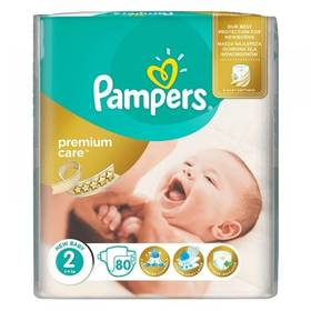 Pampers Premium Care 1 NEWBORN + Premium Care 2 MINI 168ks + Doprava zdarma