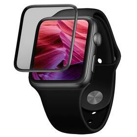 FIXED 3D Full-Cover na Apple Watch 44mm (FIXG3D-434-BK) čierne