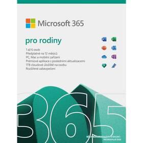 Microsoft Microsoft 365 pro rodiny CZ (6GQ-01550)