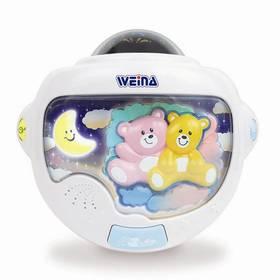 Weina s projektorem