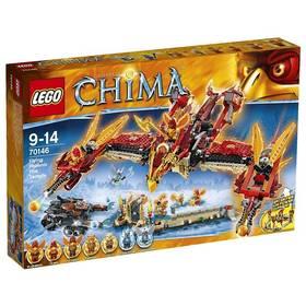 LEGO® CHIMA 70146 Létající ohnivý chrám Fénix + Doprava zdarma