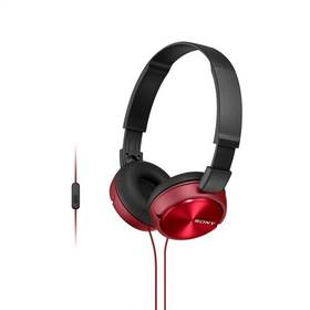 Sony MDRZX310APR.CE7 (MDRZX310APR.CE7) červená + Doprava zdarma