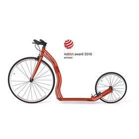 Yedoo Alloy Wolfer červená + Reflexní sada 2 SportTeam (pásek, přívěsek, samolepky) - zelené v hodnotě 58 Kč + Doprava zdarma