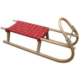 Acra Dřevěné 110 cm červená