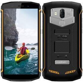 iGET Blackview GBV5800 (84000437) černý/žlutý (vrácené zboží 8800315066)