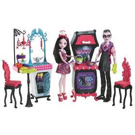 Panenka Mattel Monster High Draculaura a drákula herní set