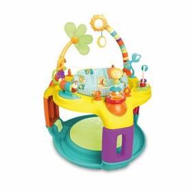Aktivní hrací centrum Bright Starts Springin Safari Bounce-A-Round™ + Doprava zdarma