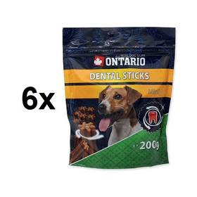 Ontario Dental Stick Mini 6 x 200g