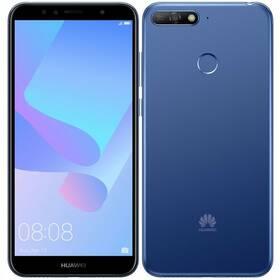 Huawei Y6 Prime 2018 Dual SIM (SP-Y6P18DSLOM) modrý Kryt na mobil Huawei Y6 Prime (2018) - průhledný (zdarma)