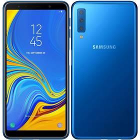 Samsung Galaxy A7 Dual SIM (SM-A750FZBUXEZ) modrý