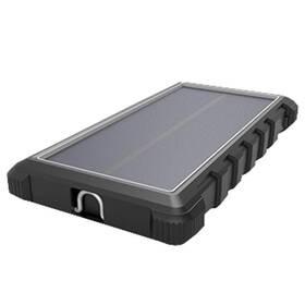 Viking W10, 10000mAh, solární, QC 3.0, USB-C (VSPW10B) čierna