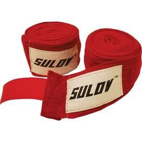Sulov boxovací bavlna 3m červená