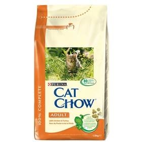 Granule Purina Cat Chow Adult Chicken&Turkey 1,5 kg