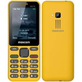 MaxCom MM139 (MM139 ŻÓŁTY) žlutý