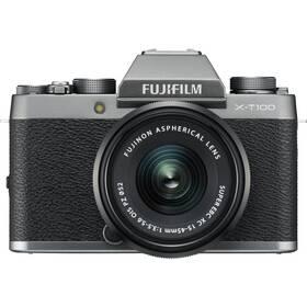 Fujifilm X-T100 + XC15-45 černý/stříbrný