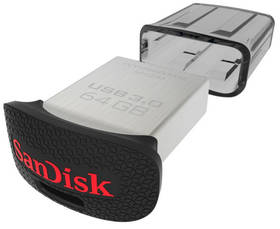 Sandisk Cruzer Ultra Fit 64GB (SDCZ43-064G-GAM46) stříbrný + Doprava zdarma