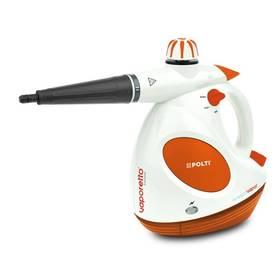 Polti VAPORETTO DIFFUSION s difuzorem vůně FRESCOVAPOR ruční bílý/oranžový + Doprava zdarma