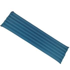Matrace nafukovací Yate Buřtovka s izolací 183x50x7 cm - modrá/šedá