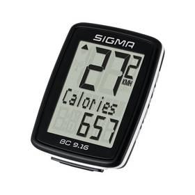 Sigma BC 9.16 černý + Doprava zdarma