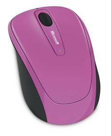 Microsoft Wireless Mobile Mouse 3500 Pink (GMF-00277) (vrácené zboží 8800553670)