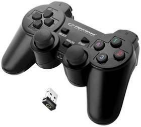 Esperanza EGG108K Gladiator pro PC/PS3 (EGG108K - 5901299947234) černý + Doprava zdarma