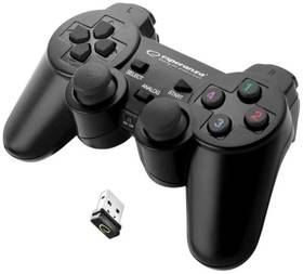 Esperanza EGG108K Gladiator pro PC/PS3 (EGG108K - 5901299947234) čierny